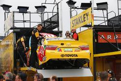 Spare car of Kyle Busch, Joe Gibbs Racing Toyota