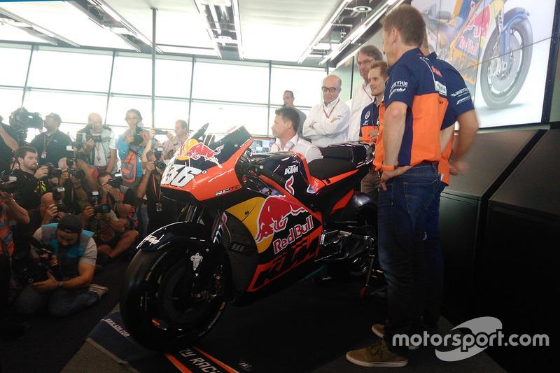 KTM press conference
