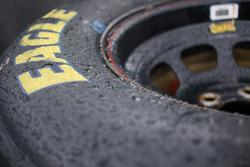 Rain on Goodyear tire