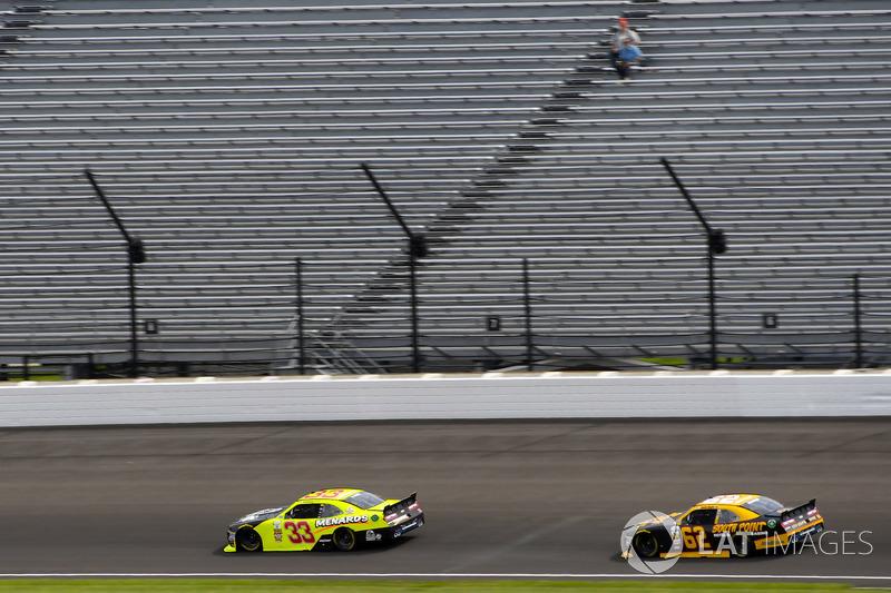 Brandon Jones, Richard Childress Racing Chevrolet y Brendan Gaughan, Richard Childress Racing Chevrolet