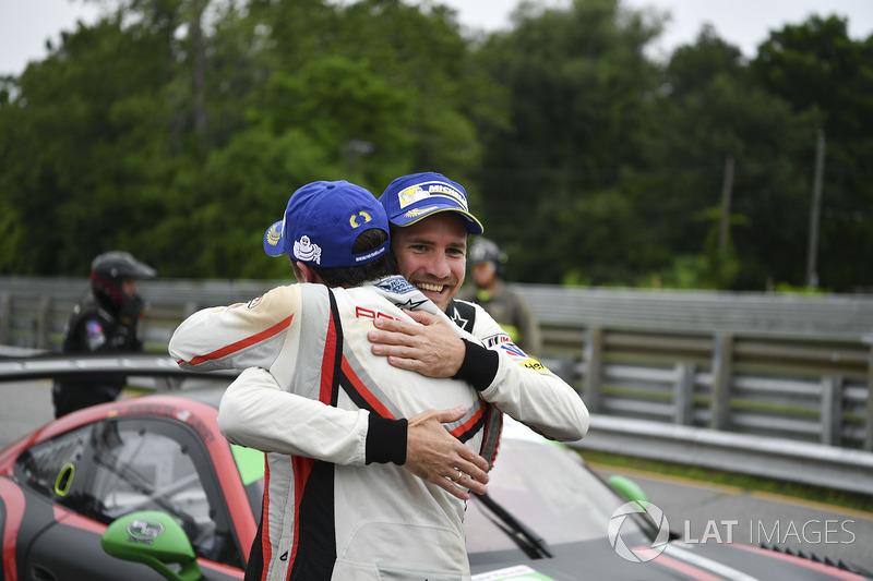 Ganadores de la carrera Patrick Pilet, Dirk Werner, Porsche Team