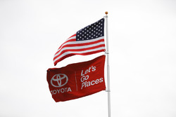 Toyota, American flags