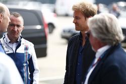 Paddy Lowe, Williams avec Nico Rosberg et Keke Rosberg