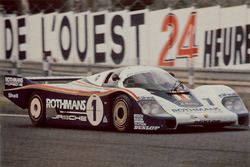 #1 Porsche Team Porsche 956: Jacky Ickx, Derek Bell