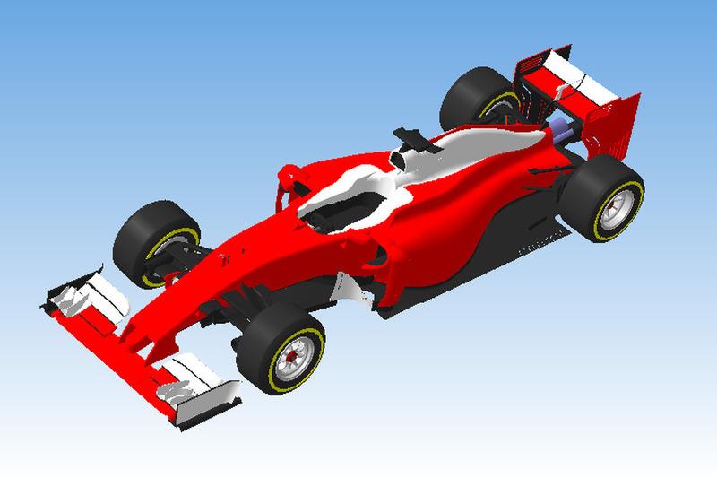 3D-модель Ferrari