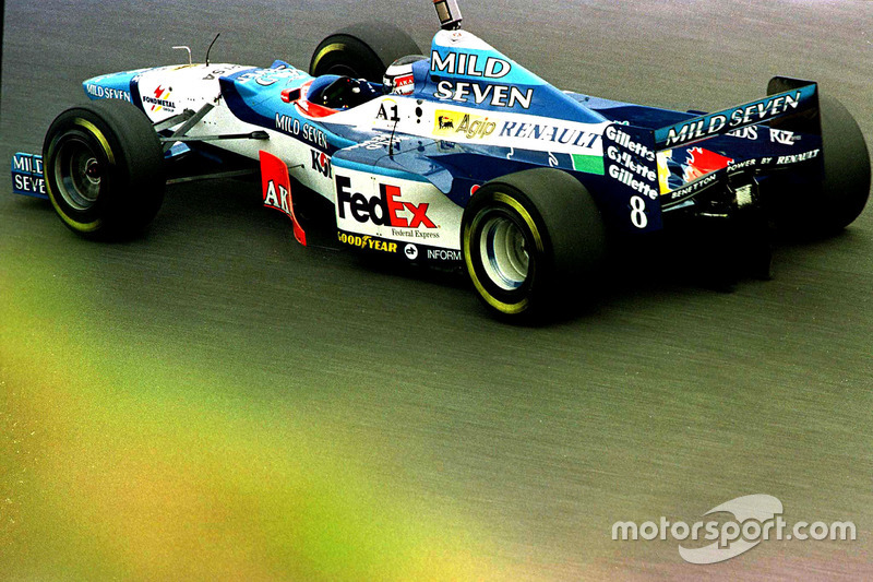 #8 : Gerhard Berger, Benetton B197