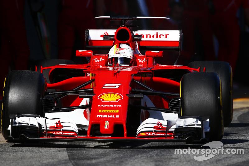 Себастьян Феттель, Ferrari (номер 5)