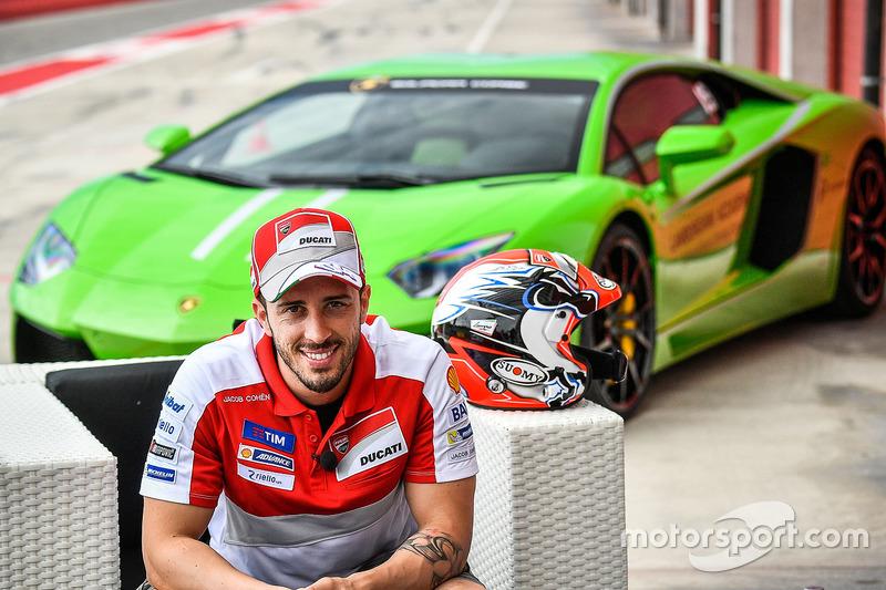 Andrea Dovizioso, Lamborghini Academy