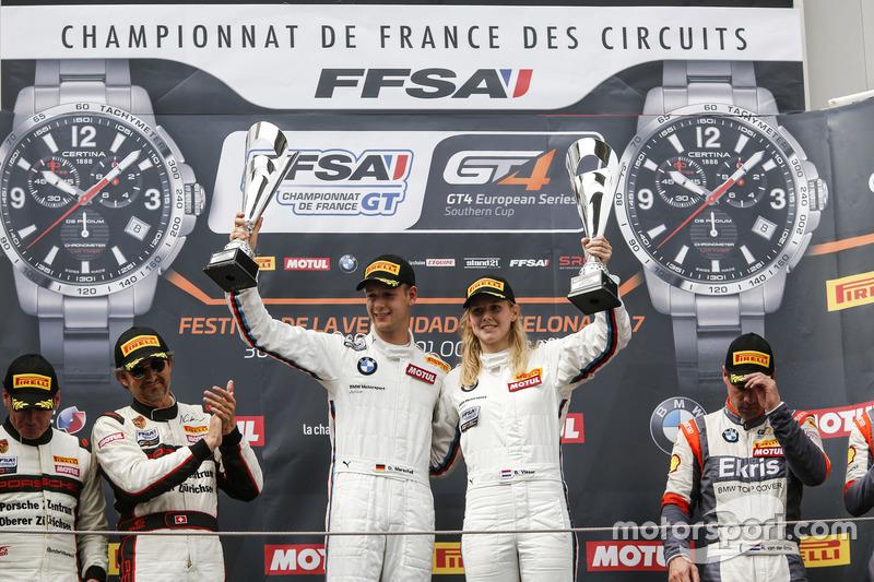 Beitske Visser dan Denis Marschall, BMW M4 GT4, BMW Team Schubert