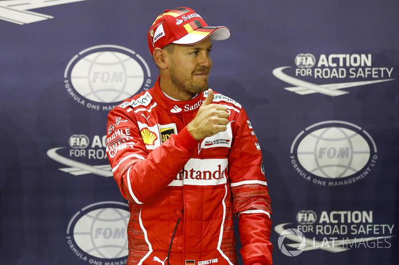 7. Sebastian Vettel, Ferrari - GP de Cingapura 2017