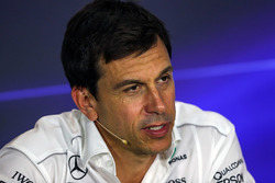 Toto Wolff, Mercedes AMG F1 Director of Motorsport in the Press Conference