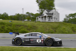 #4 Magnus Racing, Audi R8 LMS: Dane Cameron, Spencer Pumpelly