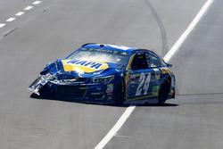 Crash: Chase Elliott, Hendrick Motorsports, Chevrolet