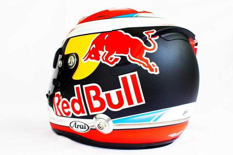 Helmet of Pierre Gasly, Scuderia Toro Rosso