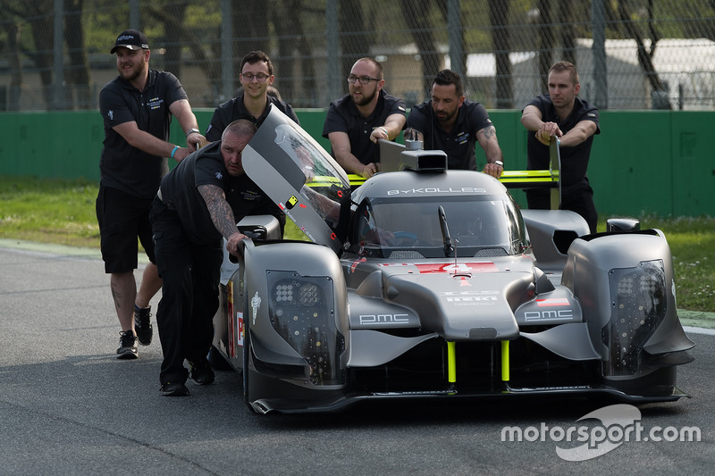 #4 ByKolles Racing, CLM P1/01: Robert Kubica, Oliver Webb