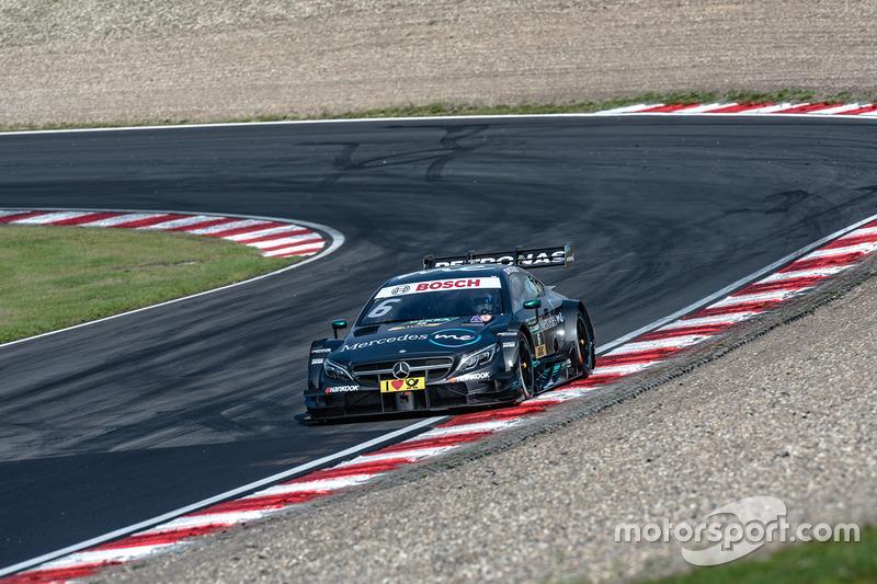 Ausfall: Robert Wickens, Mercedes-AMG Team HWA, Mercedes-AMG C63 DTM
