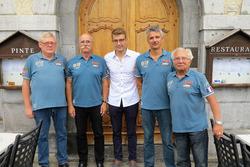 Gilles van Mesdag, Jean-Luc Monachon, Mathéo Tuscher, Fred Jouvenaz, Georges Gachnang