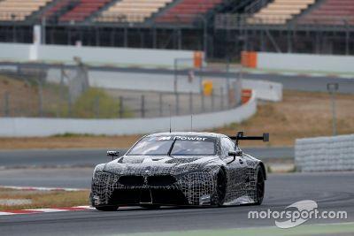 Essais BMW M8 GTE à Barcelone