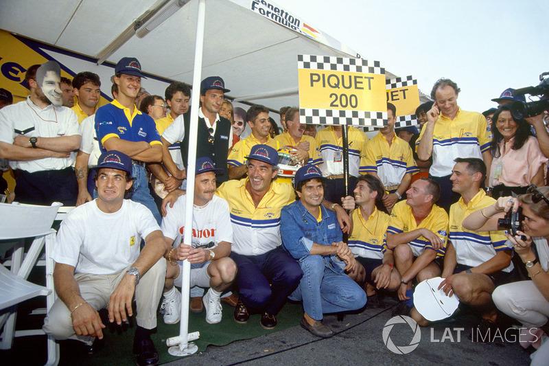 Nelson Piquet: 204 Rennen