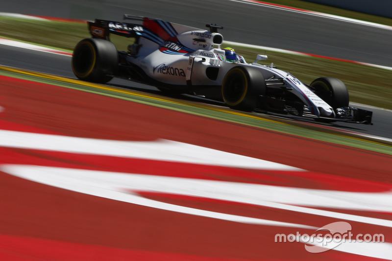 13. Felipe Massa, Williams FW40