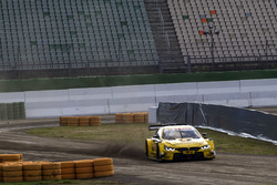 Timo Scheider and Timo Glock, BMW Team RMG, BMW M4 DTM at the Rallycross track