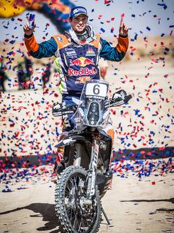 Le vainqueur moto, #6 Red Bull KTM Factory Racing KTM: Matthias Walkner