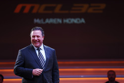 Zak Brown, Executive Director of McLaren Technology Group