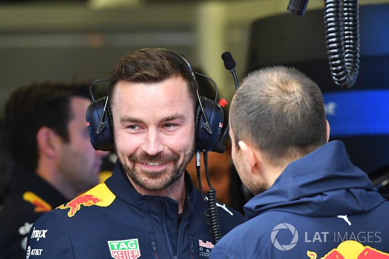 Гоночний інженер Red Bull Racing Саймон Ренні
