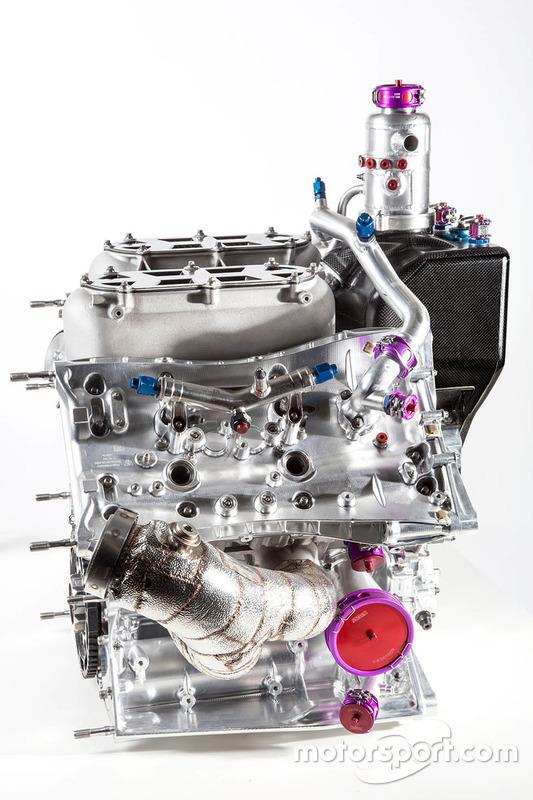 Le moteur turbo 4 cyclindres de la Porsche 919 Hybrid