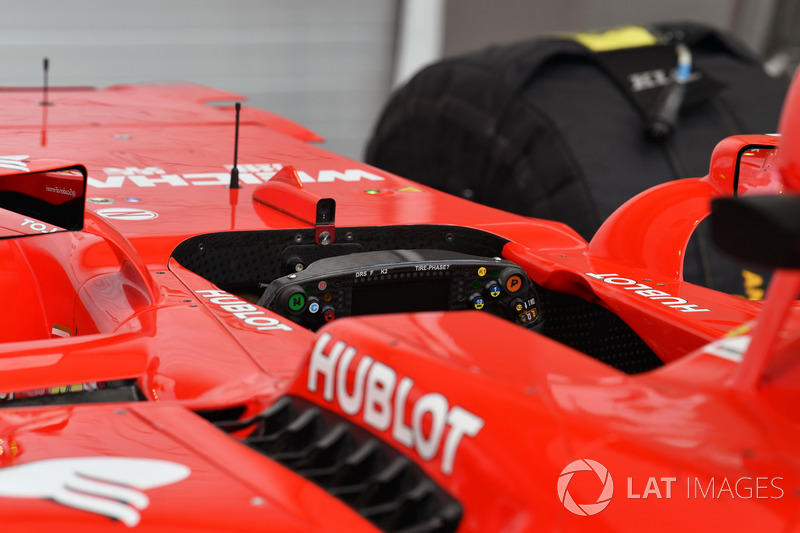 Ferrari SF70H, Cockpit