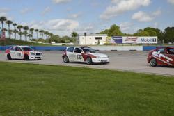 #133 MP4C Honda Civic, Juan Paulino, J&A Motorsports, #169 MP3B BMW 328, Neil Demetree, Peter London, TLM USA