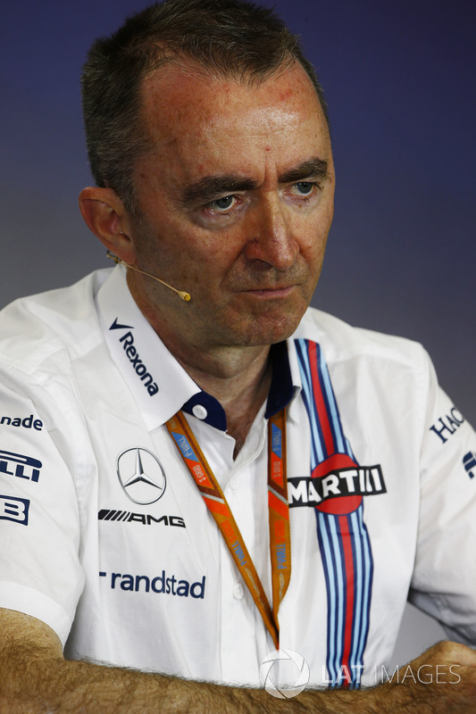 Paddy Lowe, Jefe técnico Williams Formula 1