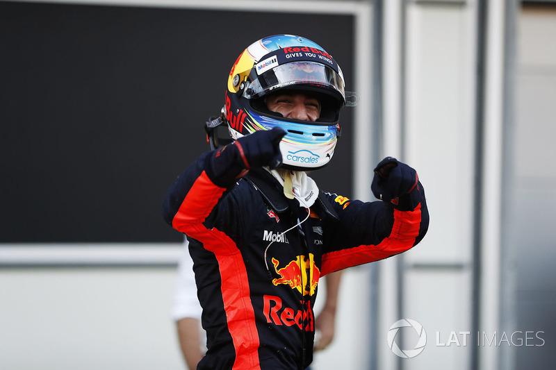 Azerbaijan GP - Winner: Daniel Ricciardo