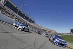 Pace-Laps: Chase Elliott, Hendrick Motorsports, Chevrolet; Dale Earnhardt Jr., Hendrick Motorsports, Chevrolet