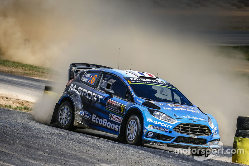 Eric Camilli y Benjamin Veillas, M-Sport Ford Fiesta WRC