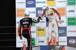 Podium: Callum Ilott, Prema Powerteam, Dallara F317 - Mercedes-Benz; Joel Eriksson, Motopark, Dallar