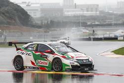 Gabriele Tarquini, Honda Racing Team JAS, Honda Civic WTCC