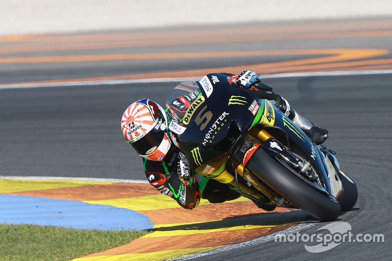 Johann Zarco, Monster Yamaha Tech 3 at Valencia November testing