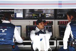Felipe Massa, Williams, mit Rob Smedley