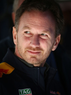 Christian Horner, jefe de equipo de Red Bull