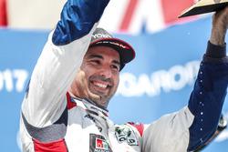 Podium: le vainqueur Mehdi Bennani, Sébastien Loeb Racing, Citroën C-Elysée WTCC