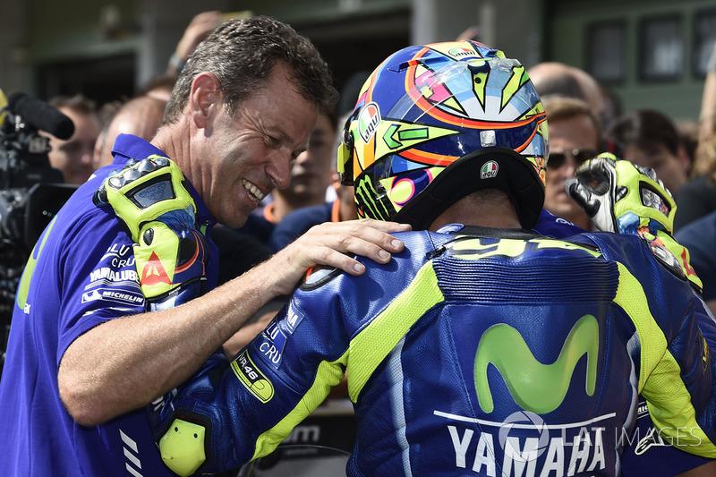 Друге місце у кваліфікації Валентино Россі, Yamaha Factory Racing