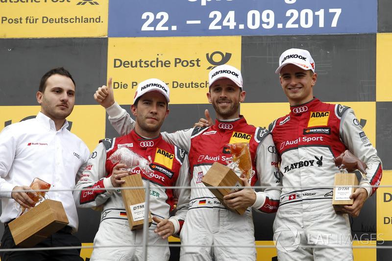 Тріо Audi у другій гонці Австрії