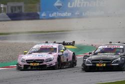 Edoardo Mortara, Mercedes-AMG Team HWA, Mercedes-AMG C63 DTM, Robert Wickens, Mercedes-AMG Team HWA, Mercedes-AMG C63 DTM