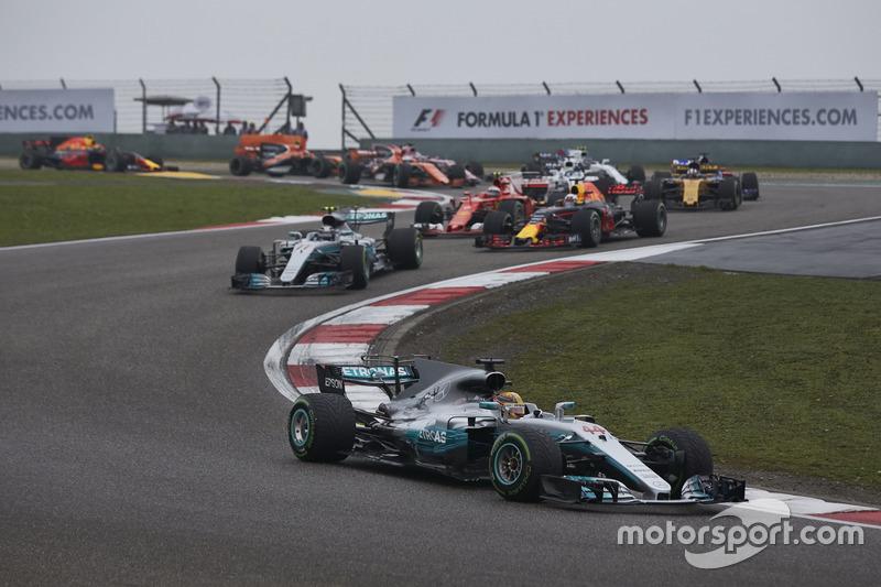 2017 Çin GP: Lewis Hamilton, Mercedes AMG F1 W08