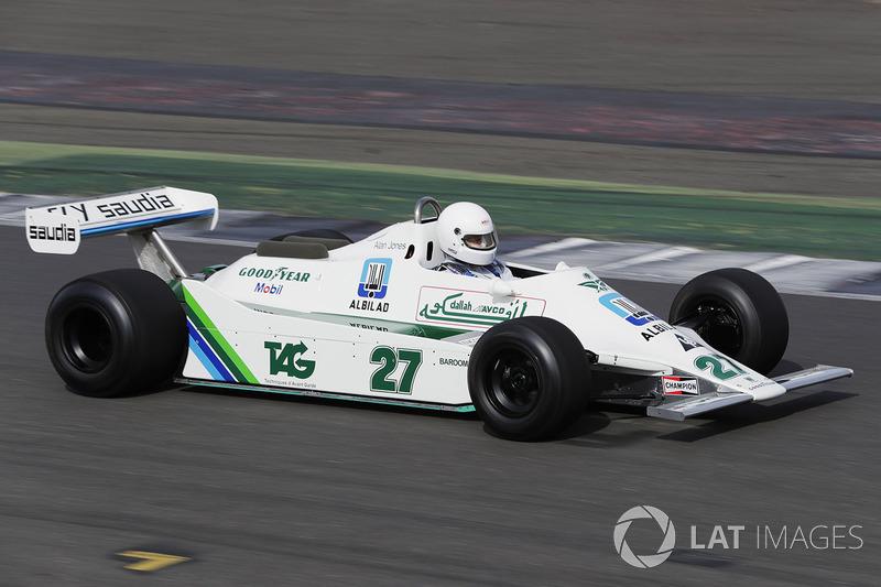 Alan Jones'un Williams FW07'si