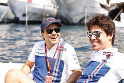 Felipe Massa, Williams; Lance Stroll, Williams