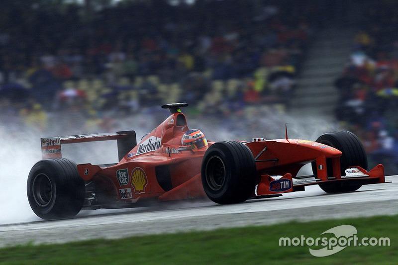 Rubens Barrichello en el GP de Alemania