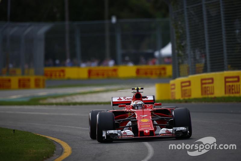 Kimi Räikkönen, Ferrari, SF70H