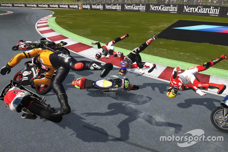 Kecelakaan besar di Barcelona